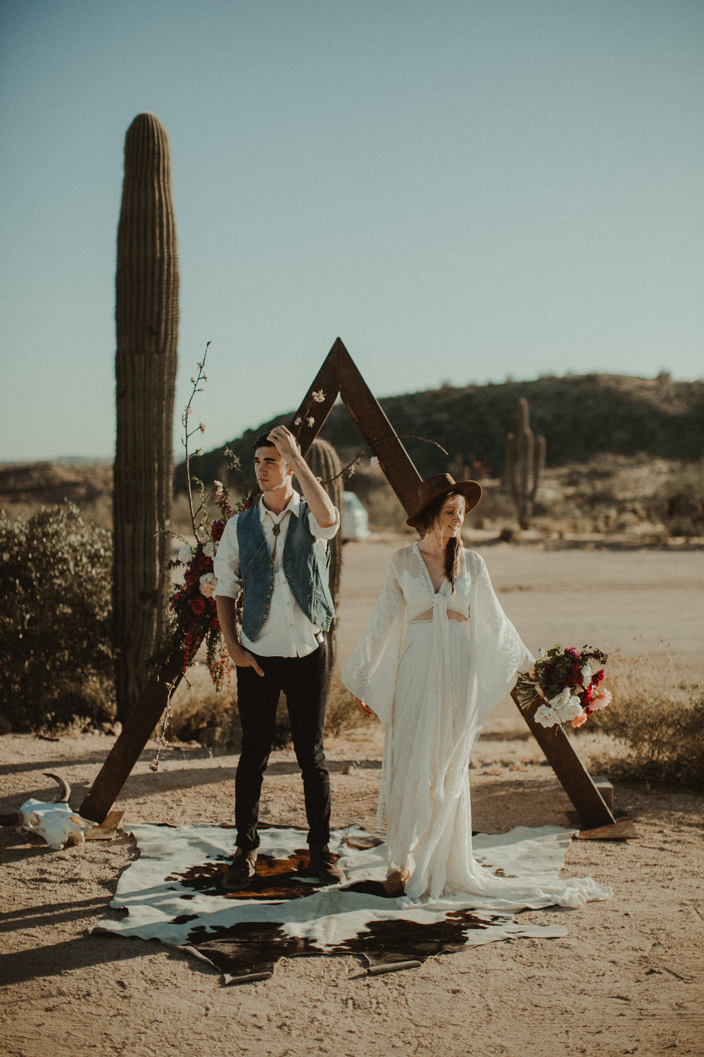 Desert Boho Vagabond Inspiration Shoot with Tremaine Ranch, From the daisies, Noir Floral, Phoenix, Arizona - Wedding & Event Rentals, Vintage, Specialty1.jpg