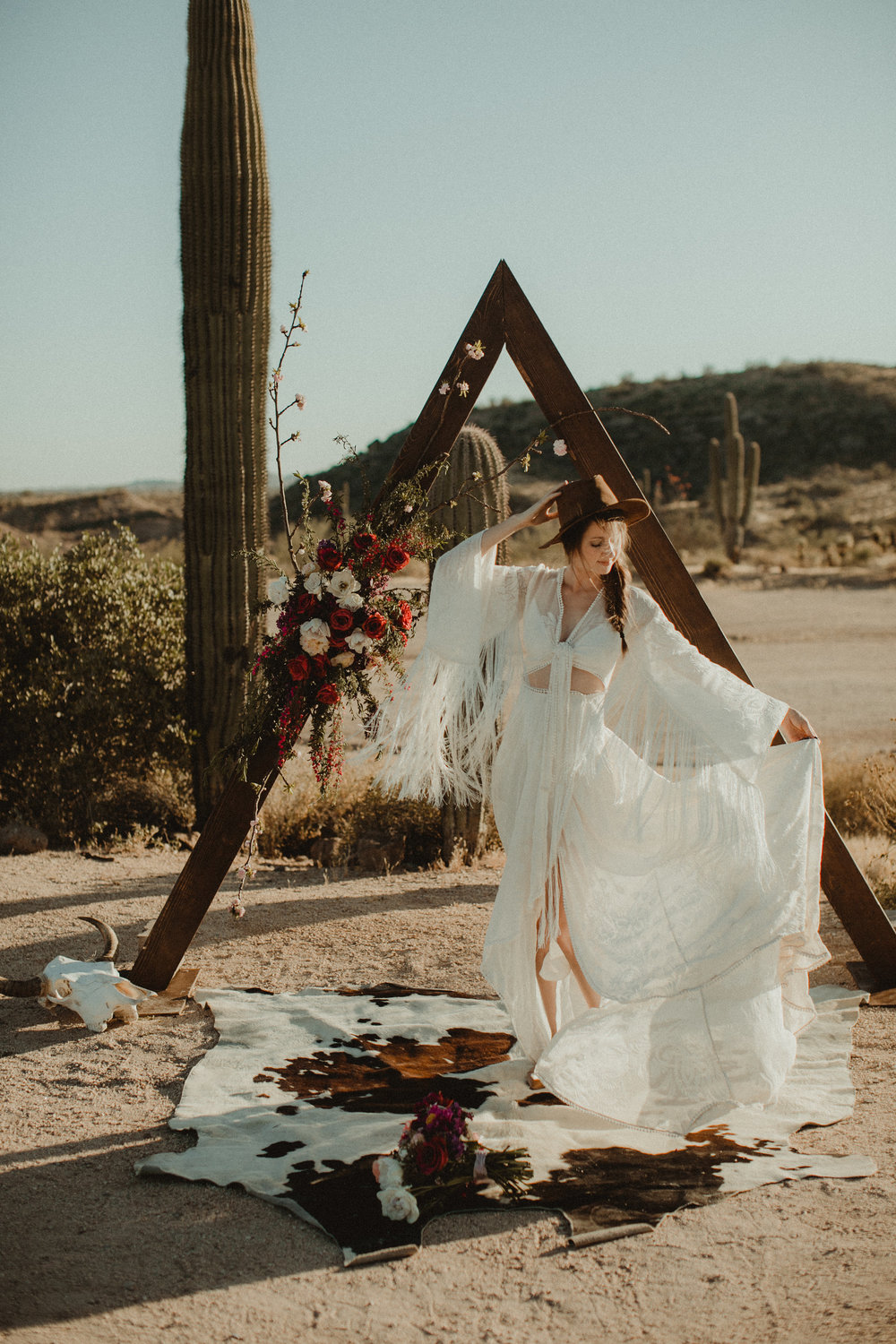 Desert Boho Vagabond Inspiration Shoot with Tremaine Ranch, From the daisies, Noir Floral, Phoenix, Arizona - Wedding & Event Rentals, Vintage, Specialty21.jpg