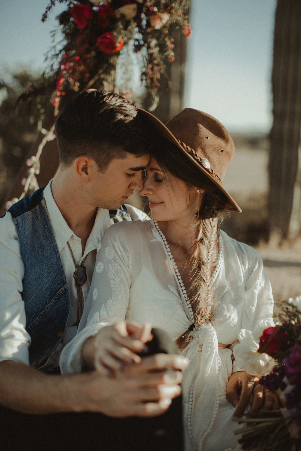 Desert Boho Vagabond Inspiration Shoot with Tremaine Ranch, From the daisies, Noir Floral, Phoenix, Arizona - Wedding & Event Rentals, Vintage, Specialty46.jpg