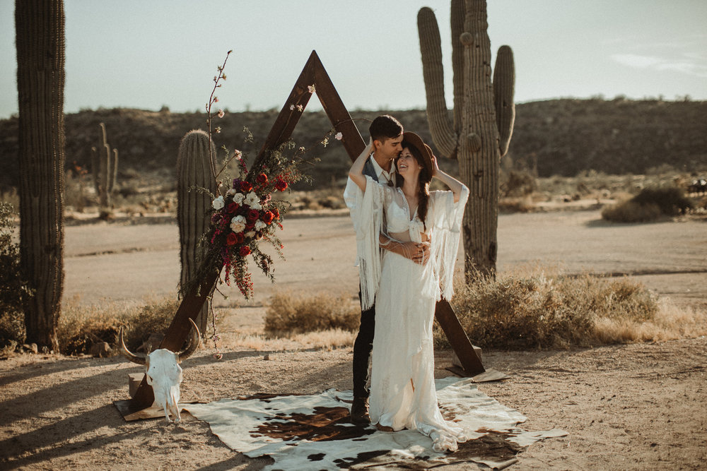Desert Boho Vagabond Inspiration Shoot with Tremaine Ranch, From the daisies, Noir Floral, Phoenix, Arizona - Wedding & Event Rentals, Vintage, Specialty59.jpg