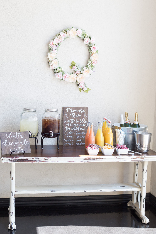 Modern Meets Bohemian Baby Shower with Tremaine Ranch Wedding Event Tableware Vintage Rentals Arizona47.jpg
