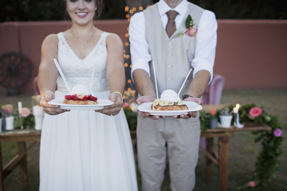 Backyard Wedding Celebration with Tremaine Ranch Wedding Event Tableware Vintage Rentals Arizona22.jpg