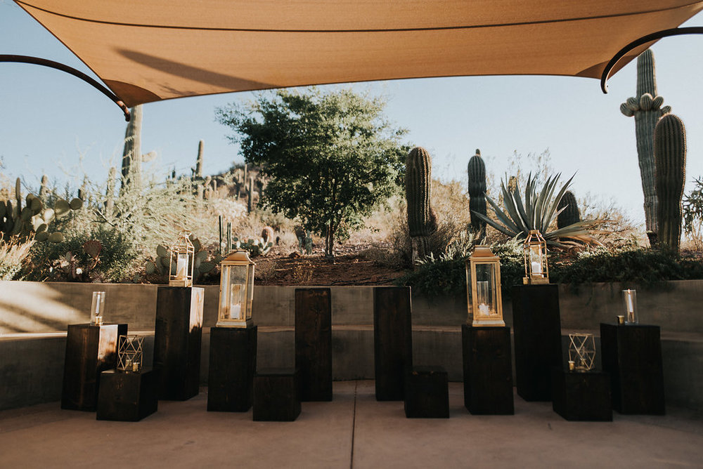 A Colorful Arizona Sunset Wedding at the Desert Botanical Gardens - Tremaine Ranch Arizona Wedding Event Vintage Furniture Tableware Specialty Rentals with Jonnie and Garrett14.jpg