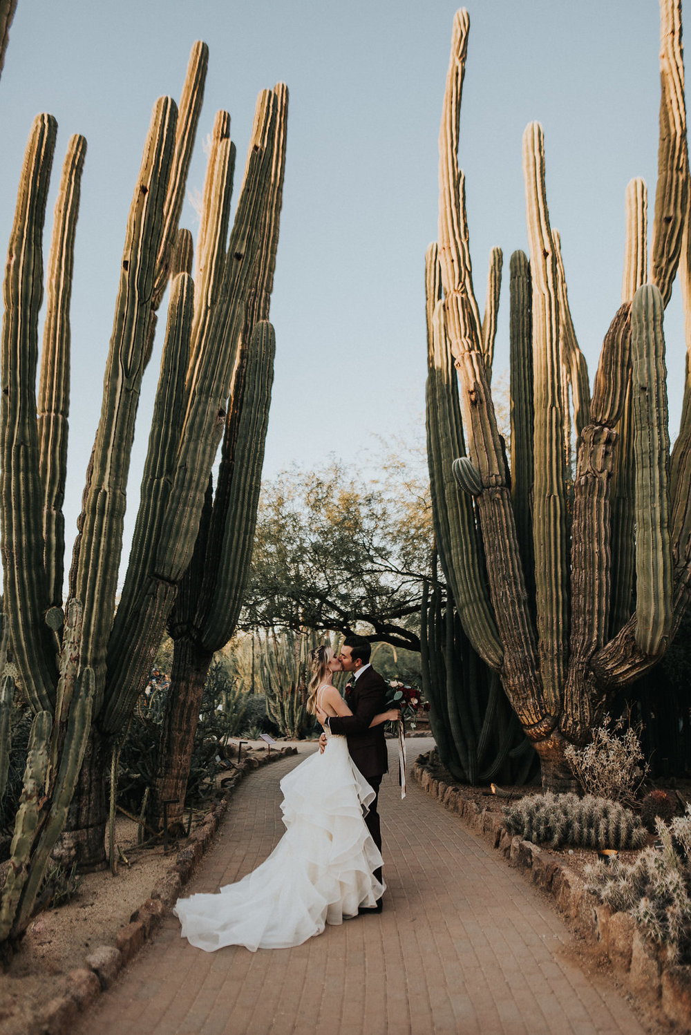 A Colorful Arizona Sunset Wedding at the Desert Botanical Gardens - Tremaine Ranch Arizona Wedding Event Vintage Furniture Tableware Specialty Rentals with Jonnie and Garrett31.jpg