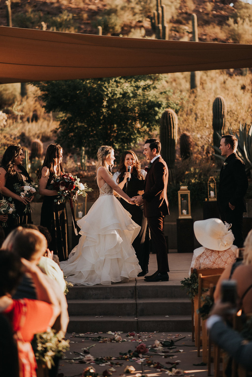 A Colorful Arizona Sunset Wedding at the Desert Botanical Gardens - Tremaine Ranch Arizona Wedding Event Vintage Furniture Tableware Specialty Rentals with Jonnie and Garrett27.jpg