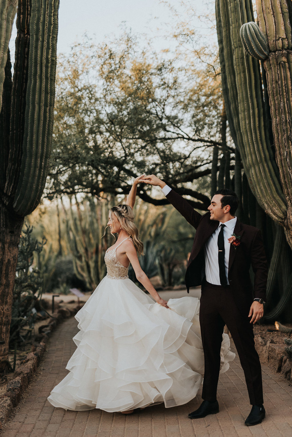 A Colorful Arizona Sunset Wedding at the Desert Botanical Gardens - Tremaine Ranch Arizona Wedding Event Vintage Furniture Tableware Specialty Rentals with Jonnie and Garrett32.jpg