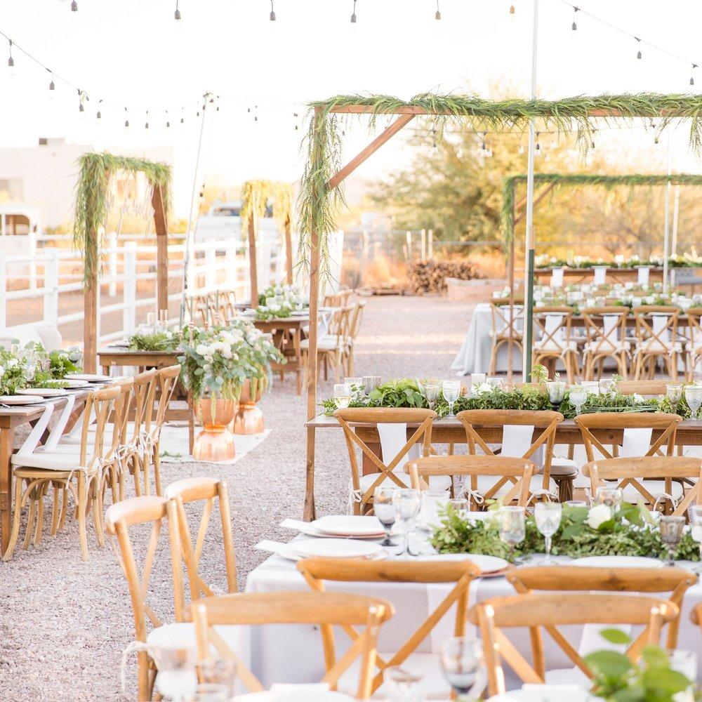 Rustic Chic Arizona Wedding - Featured On Ruffled Blog