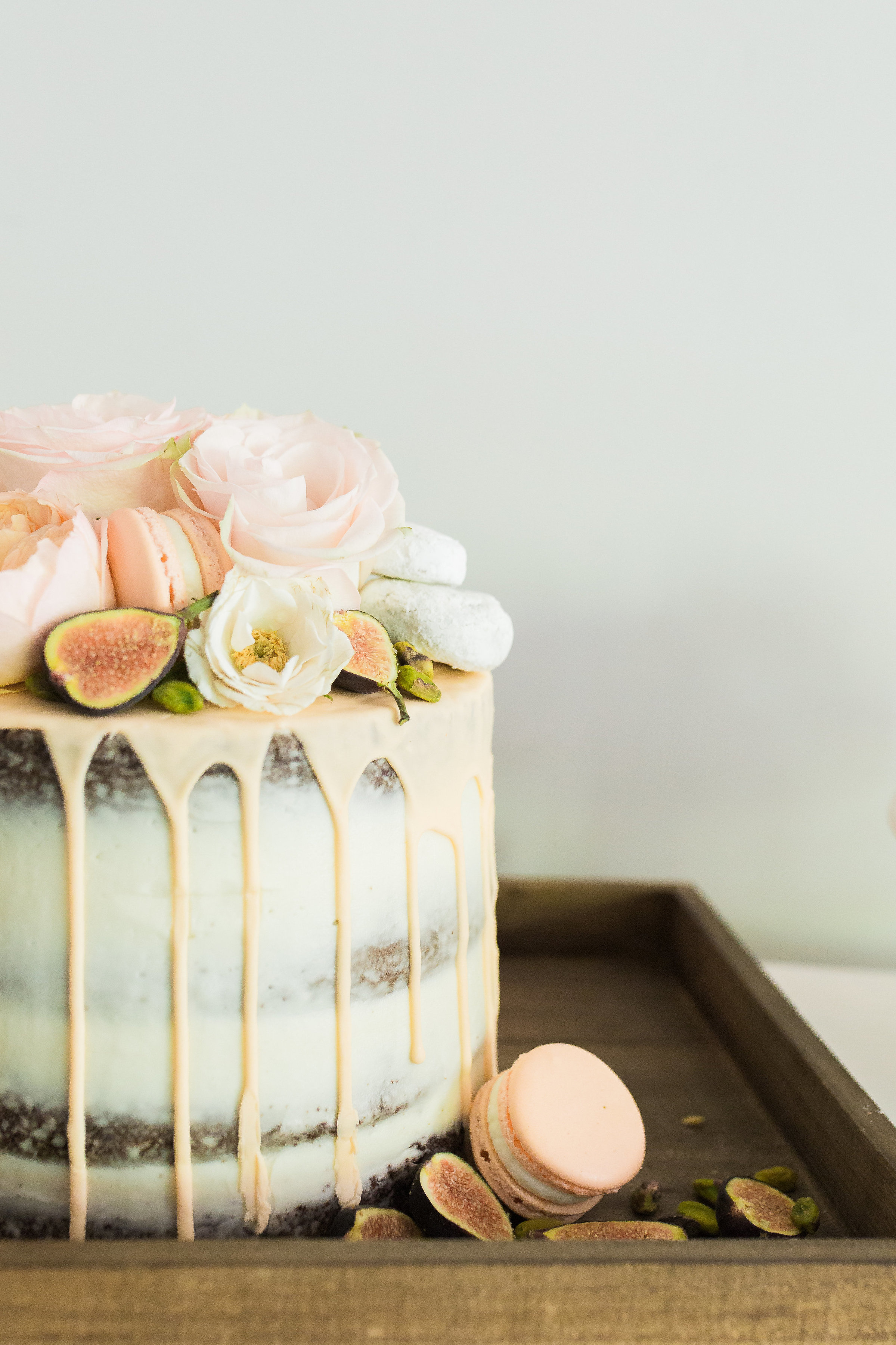8a6b9f64d43 Peach   Pink Baby Shower Inspiration - Tremaine Ranch