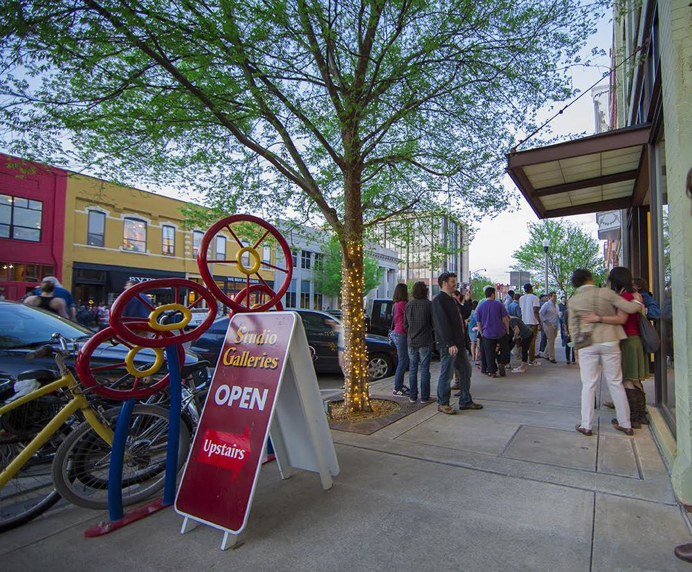 Eat, Shop, Play, Do Business in   Downtown Norman
