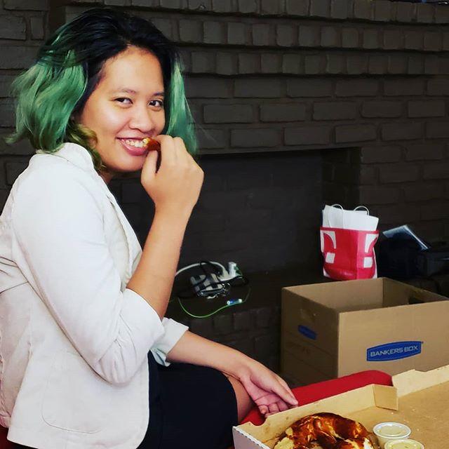 Nontani finding love through delivery pretzel!