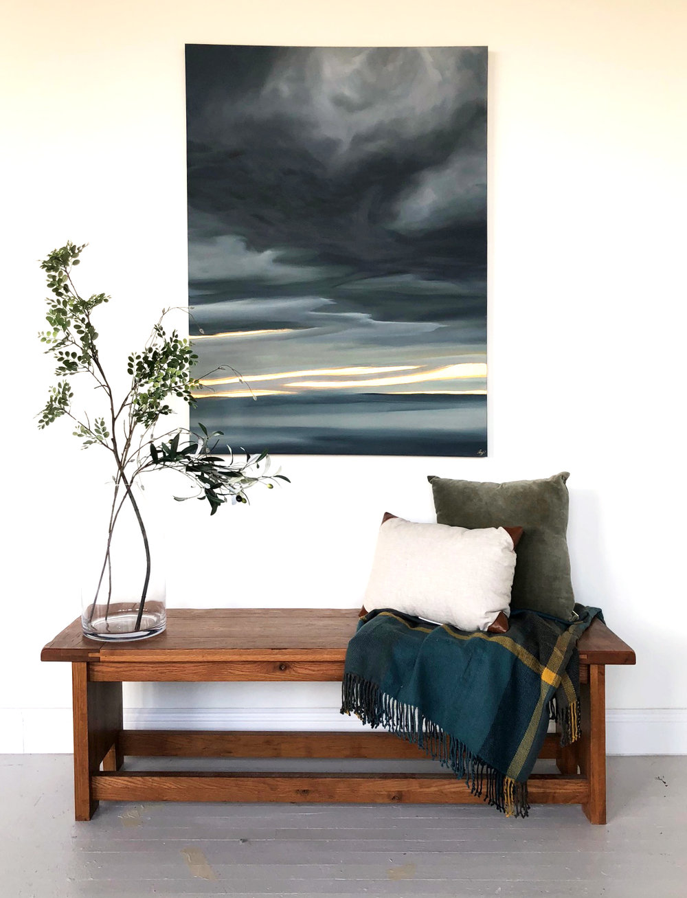 How to Hang & Style Artwork - For home and studio.
