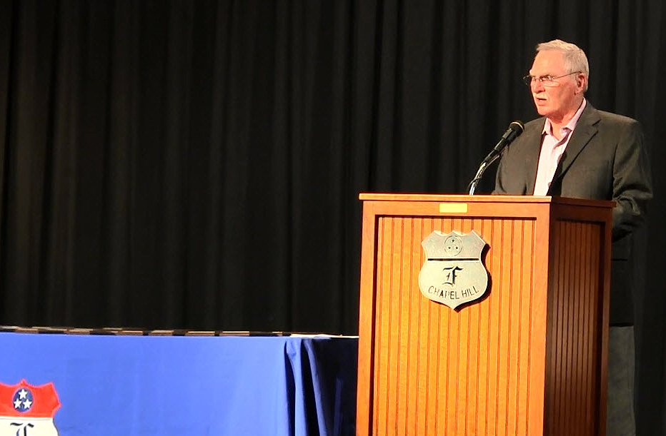 E.W. Hill presents 2015 Scholarships