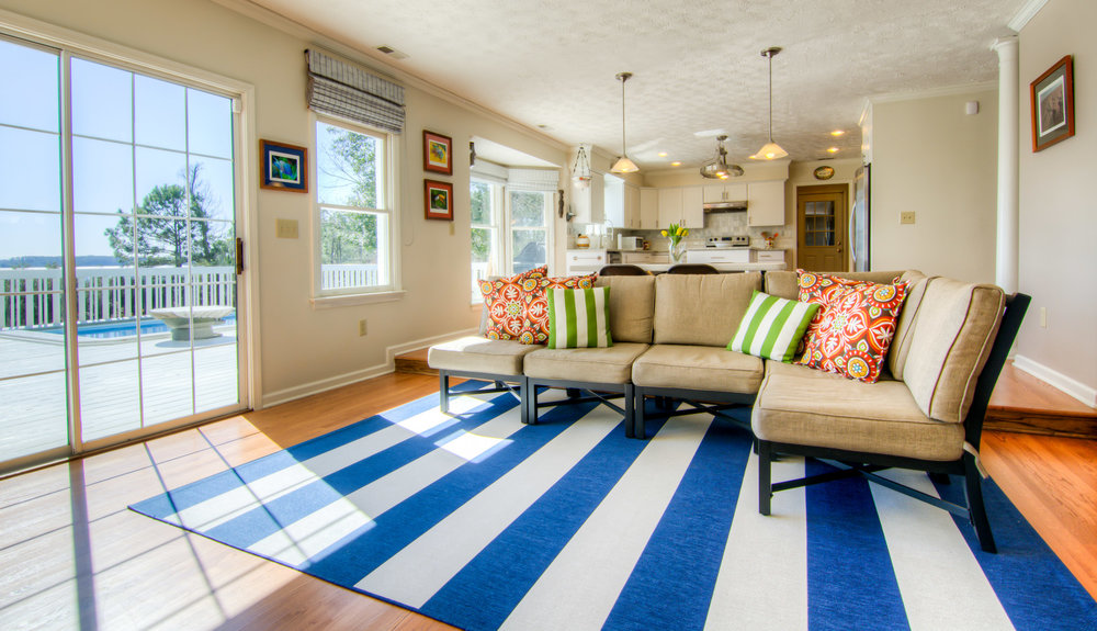 153 Point Rd Beaufort Living Room