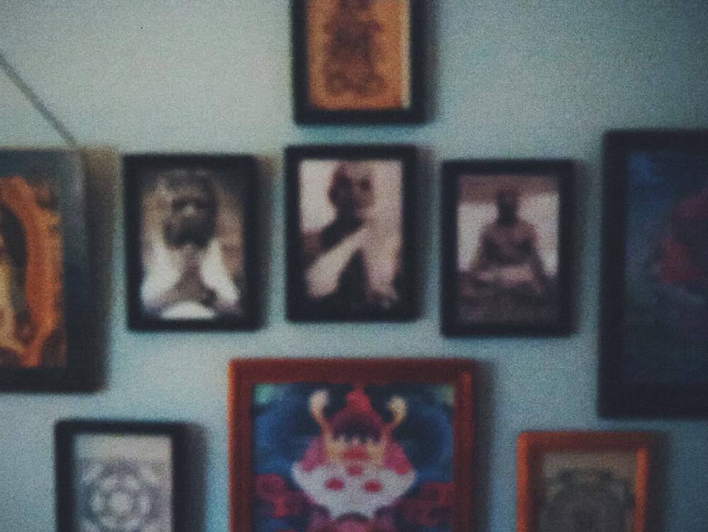 Guru wall