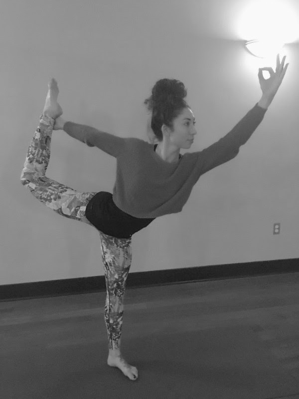 "Dancer Pose, ""Natarajasana"""