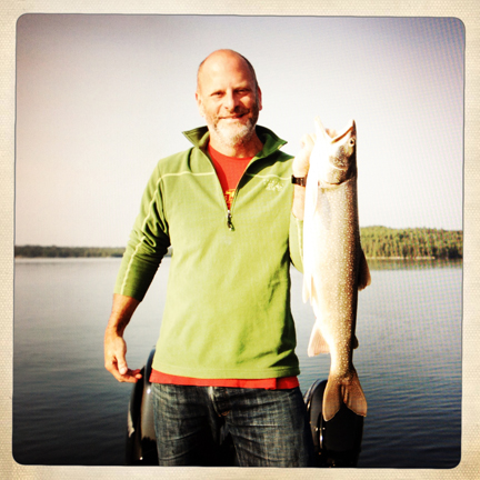 On assignment on Lake of The Woods, Sioux Narrows, Canada