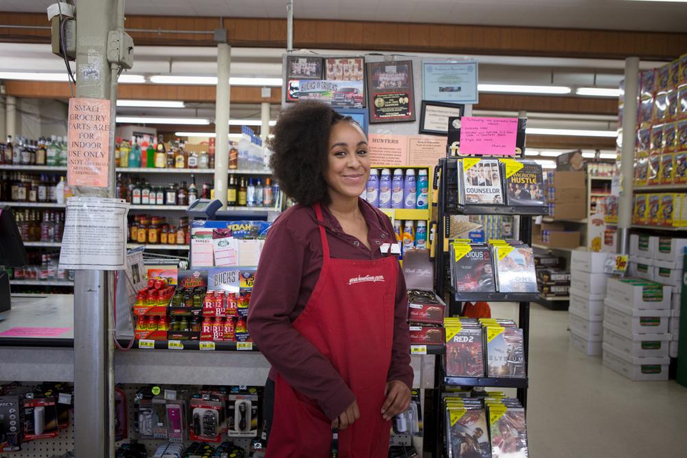 AishaRae, Grocery clerk, Kooskia, Idaho