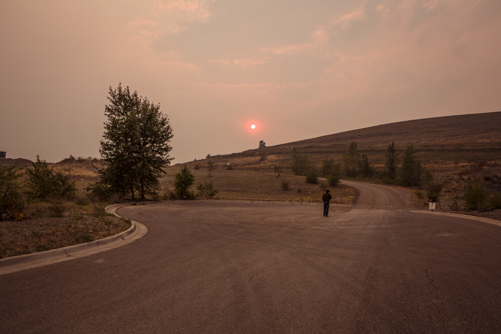 heavy smoke in Missoula, MT