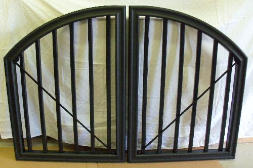 TimberTech RadianceRail Double Arch Top gate