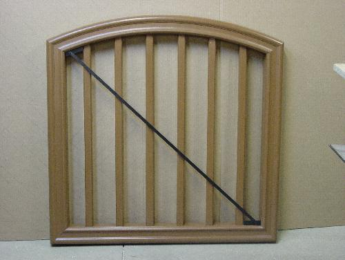 TimberTech RadianceRail Arch Top Gate