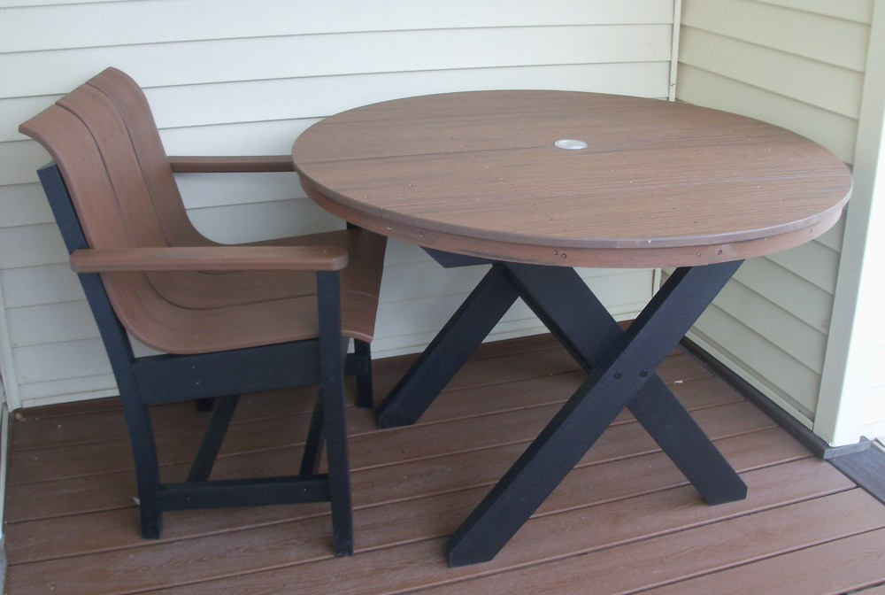 TimberTech Table and Chair