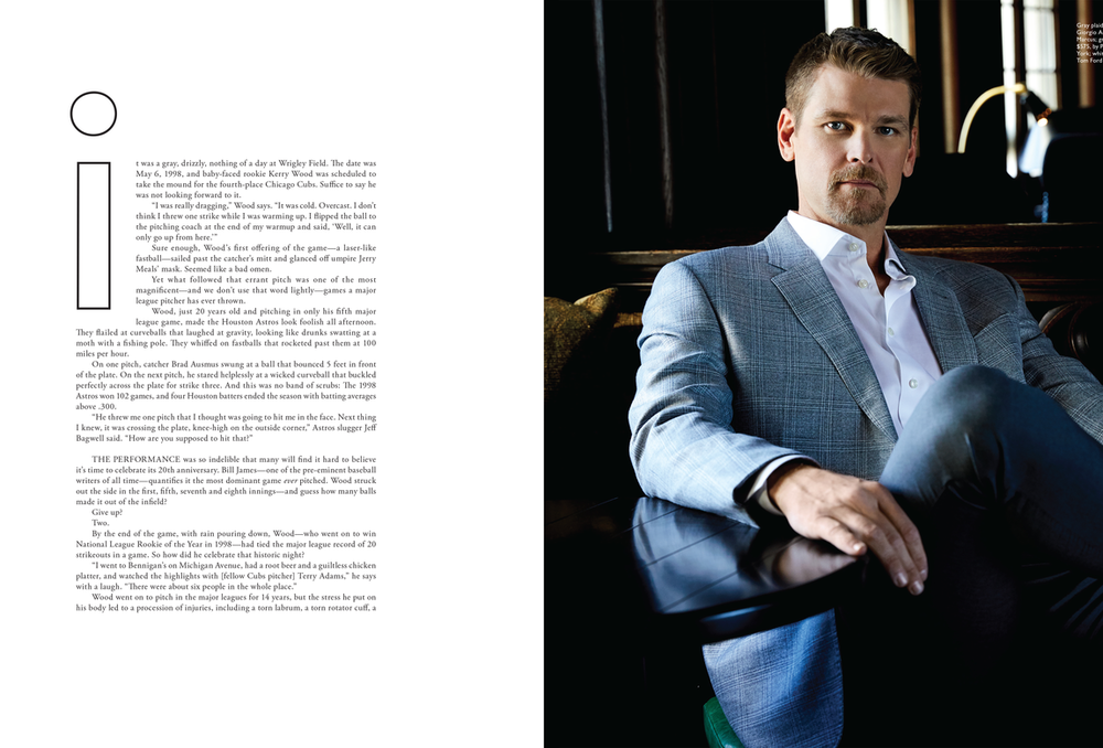 Assisted Theresa DeMaria for Men's Book Chicago.