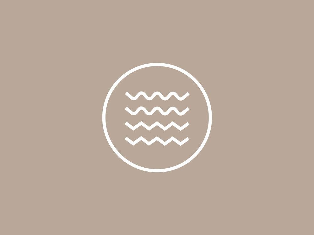 'Waves' logo mark