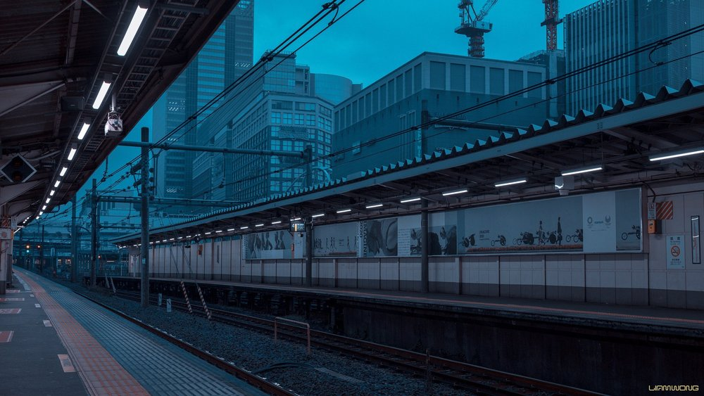 Dramatic photos of Tokyo from art director and photographer  @liamwong .