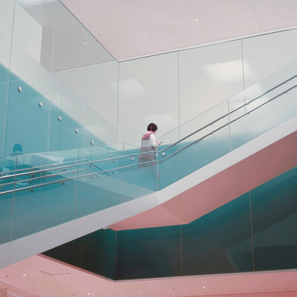 Absolutely love the colours and lines on this photo by James Jean.