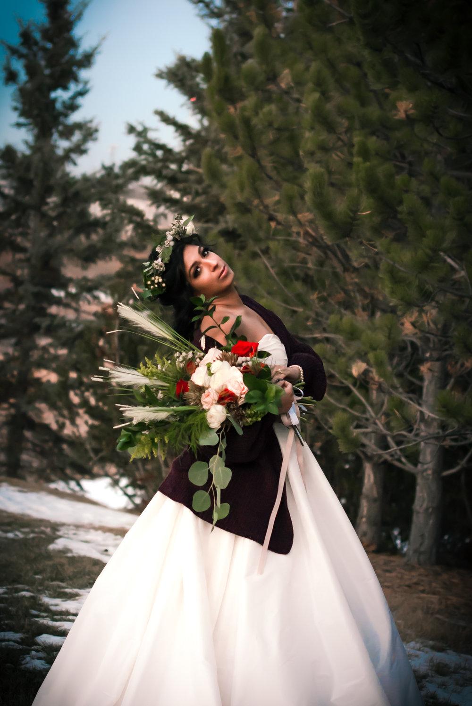 Boho Woodland Bride -