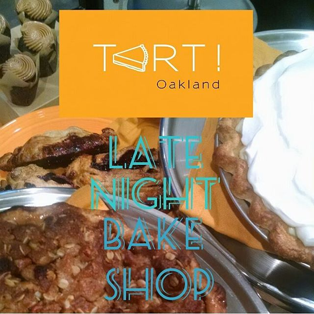 We're back! Tonight from 8-Midnight at the Kitchener Snackbar @kitcheneroak . #Pie #Cupcake minis and more. Come in by 😃