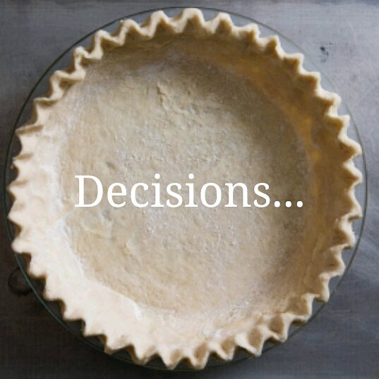 No Late Night Bakeshop tonight 😔 But what say you to next week's Pie Flavor? Drop a note and help me decide 😉😃 #imfeelingcherry