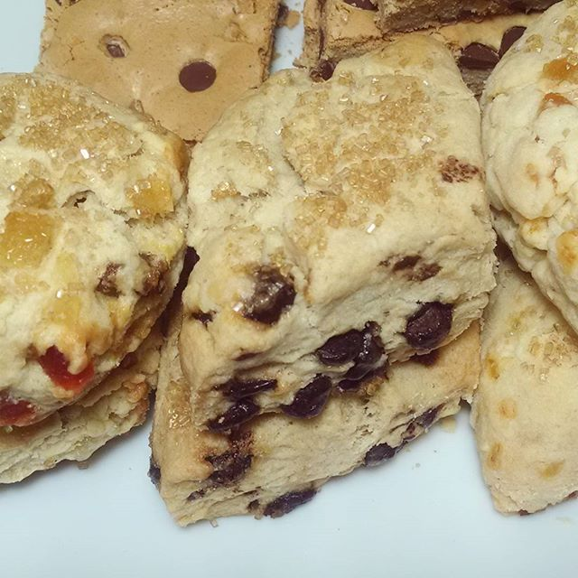 Sweets for tonight and #SCONES for tomorrow 🙌😉 Come by and get some. Tonight til midnight.
