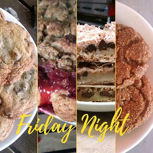 Tonight! Late Night Bakeshop at the Kitchener Snackbar! 8pm-midnight. #PIE #COOKIES and more!