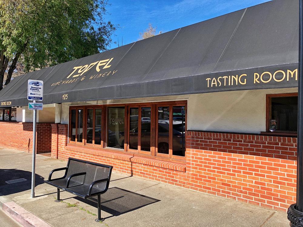 Healdsburg - SOLD - Tasting Room