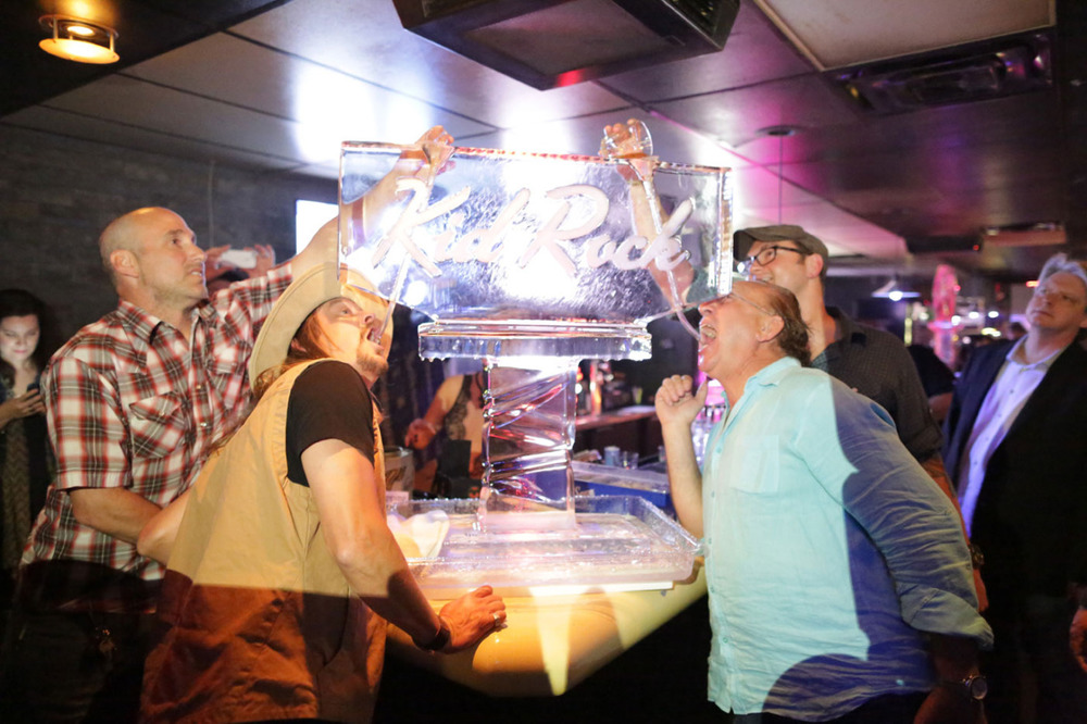 4) Kid Rock Ice Luge