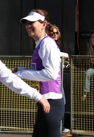 Skinny me after 26.2 miles...look, no worries!