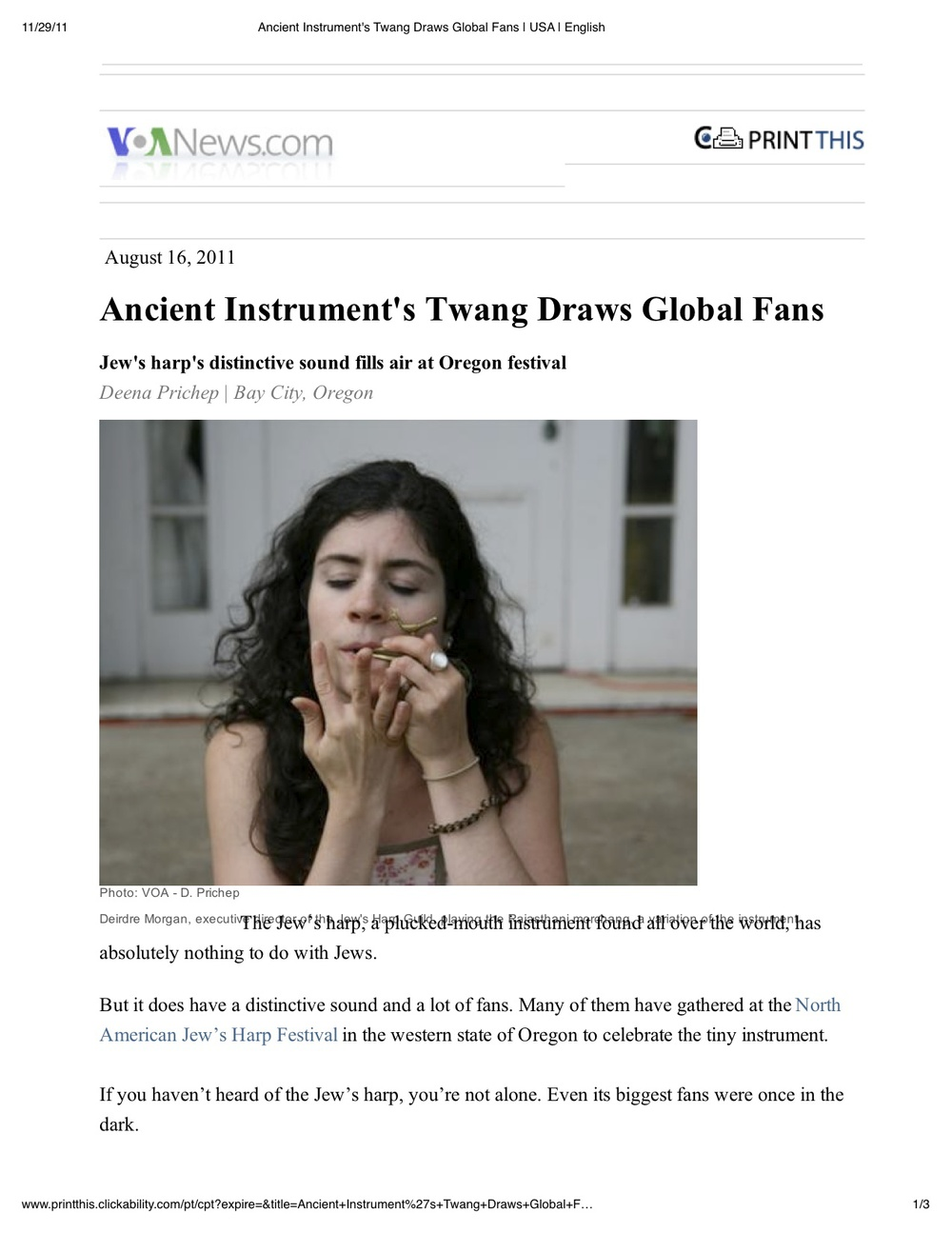 Ancient Instrument's Twang Draws Global Fans _ USA _ English.jpg