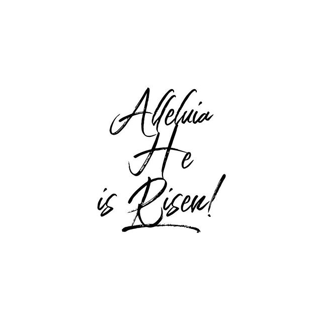 The Lord is risen indeed, alleluia! 🙌🏽✝️🙌🏽