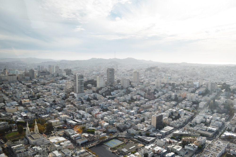 One afternoon this past year, I took a helicopter rider over San Francisco. I had never seen the city from this view, and I have to say it was breath taking. I would absolutely recommend seeing the city from above, it's amazing what a different perspective it has.