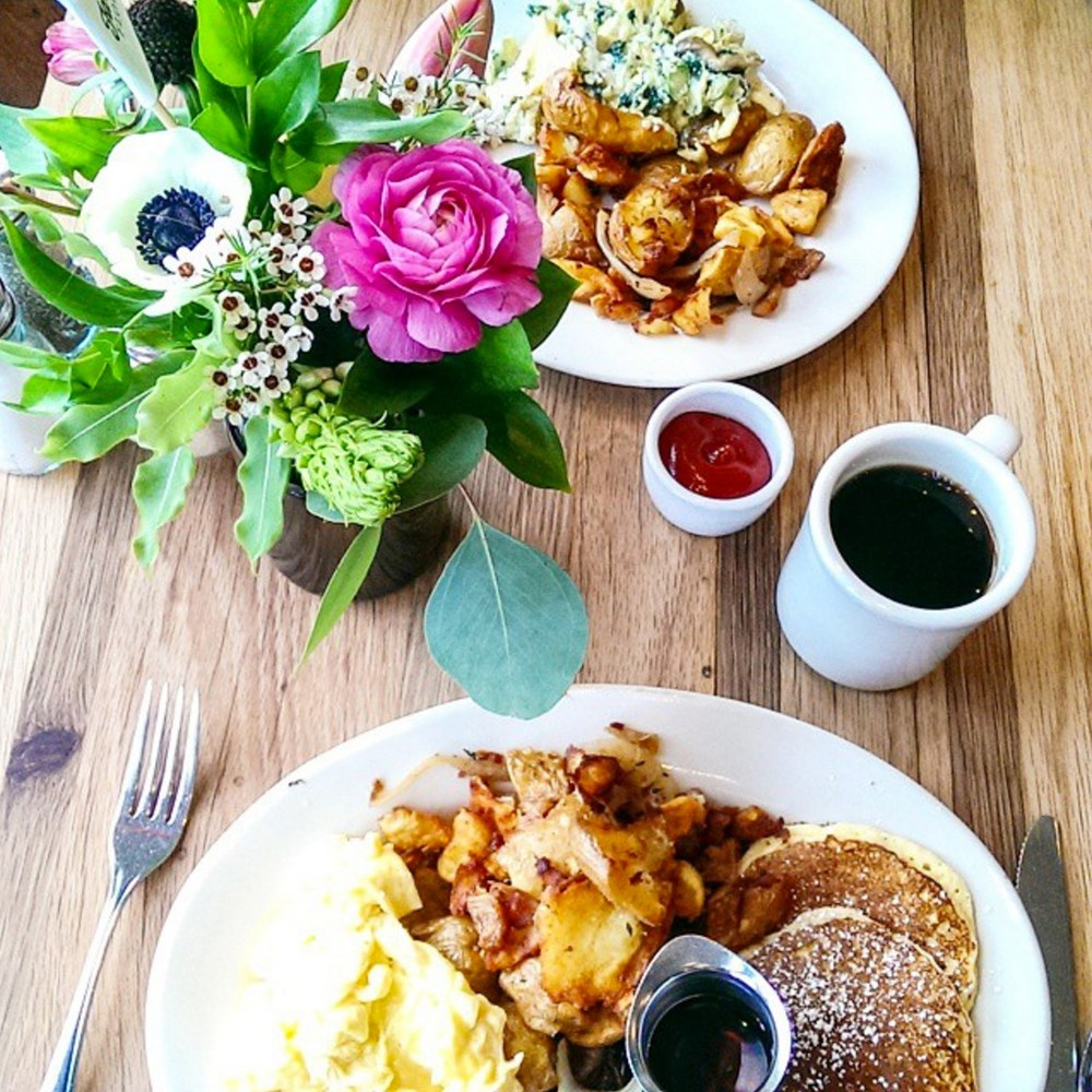 My perfect day would start with brunch at   Plow  in Potrero Hill. The Plow Platter is the stuff dreams are made of! They have great lemon ricotta pancakes too. Get there early though, as there is always a line on the weekends.