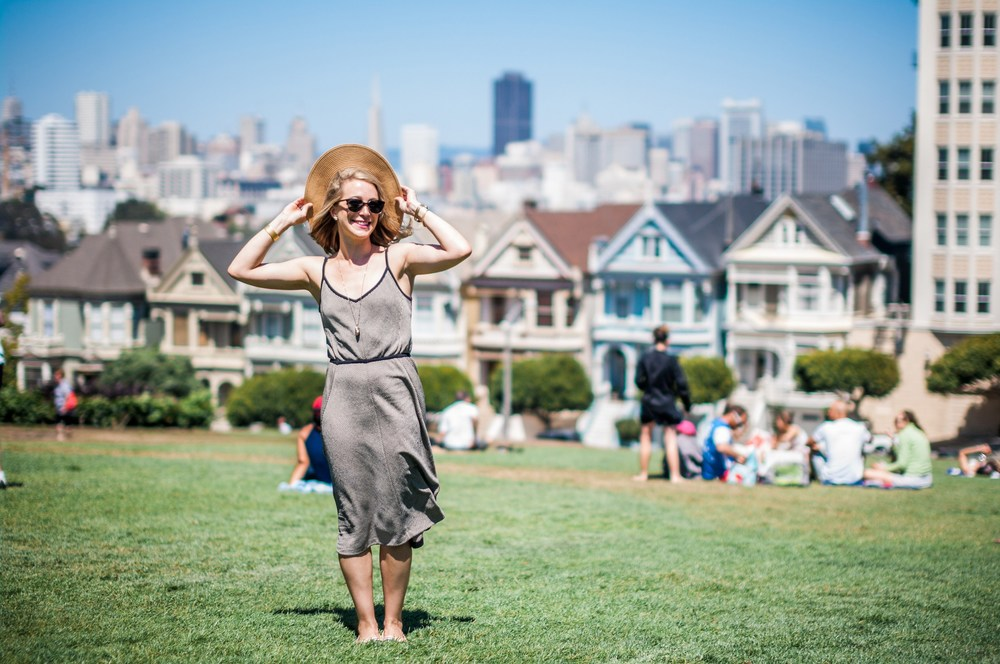 A visit to San Francisco isn't complete without a stop at the beautiful Painted Ladies. They never get old and Alamo Square Park is great for people-watching. This place probably has the highest density of selfies and selfie sticks in San Francisco.