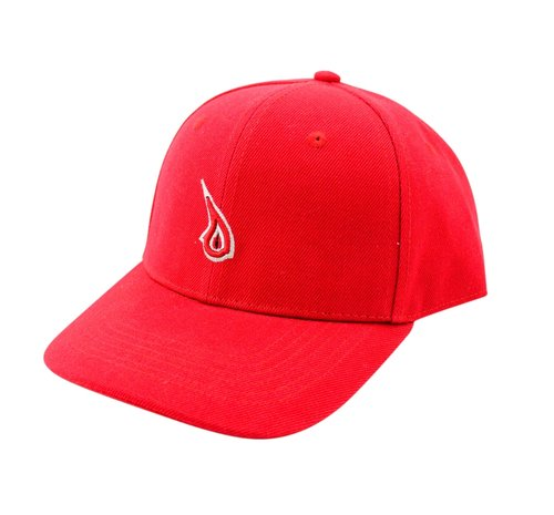 Swish Red Drop Dad Hat. Red Drop.jpg d7feeb420df