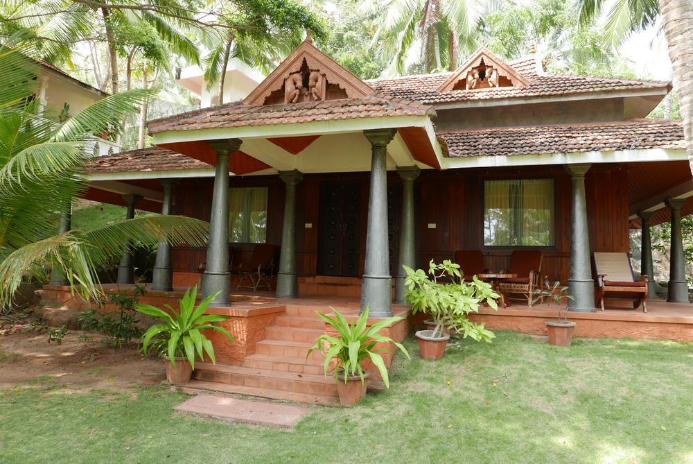 Wooden Kerala Houses Bethsaida Hermitage