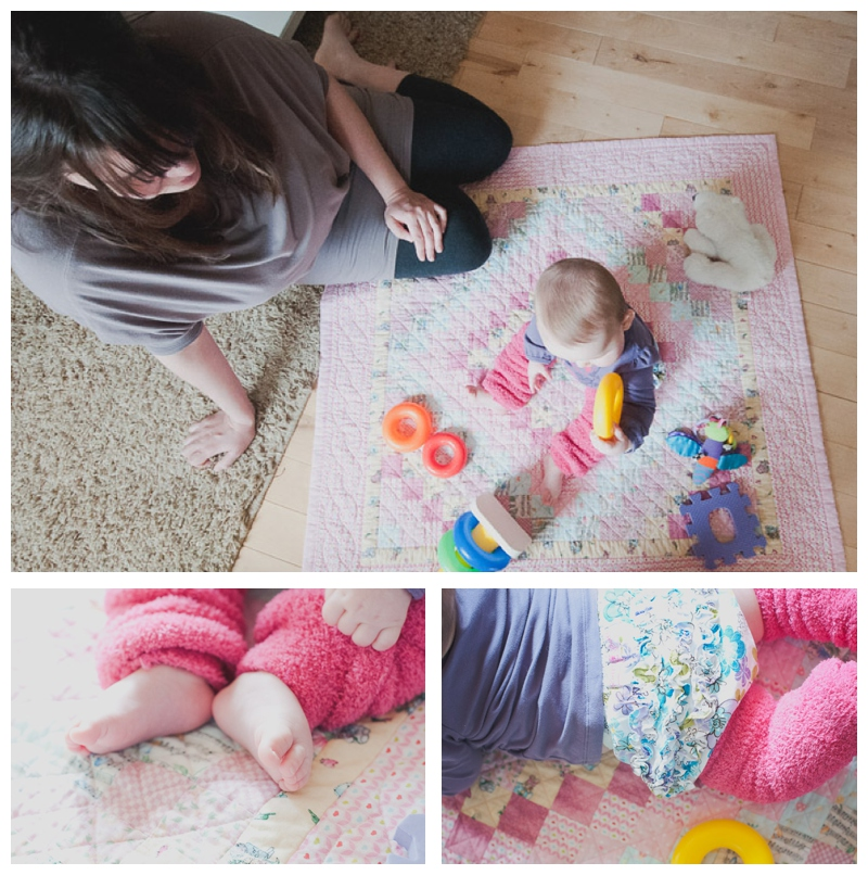 Baby photo session idea