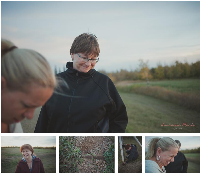 Finding the grate, Halkirk Alberta