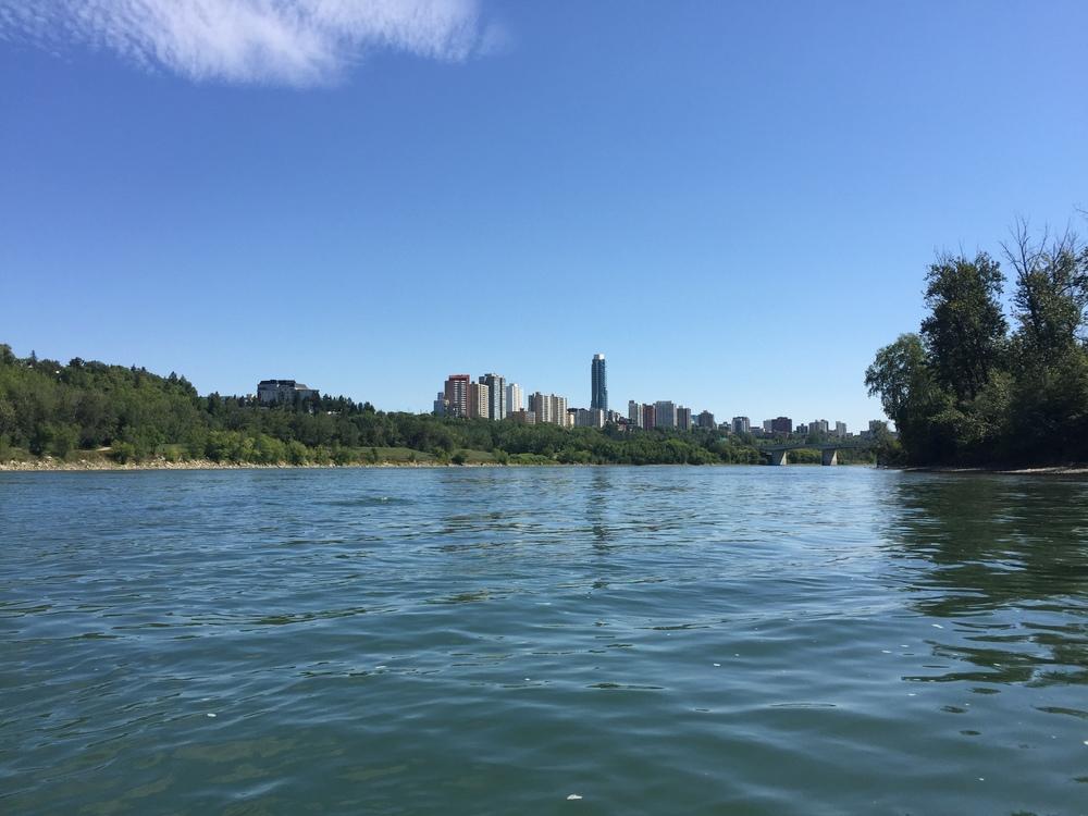 Kayaking the North Saskatchewan River, edmonton Photographer