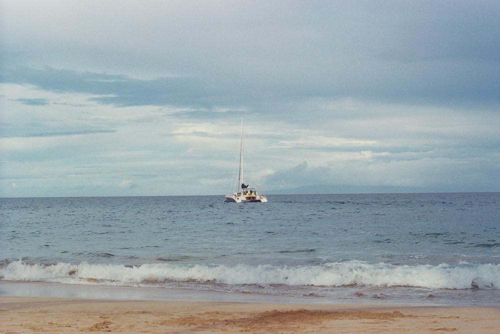Maui, Pentax , expired film ISO 400