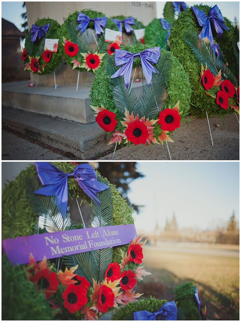 Edmonton photographer, No stone Left Alone : Remembrance day