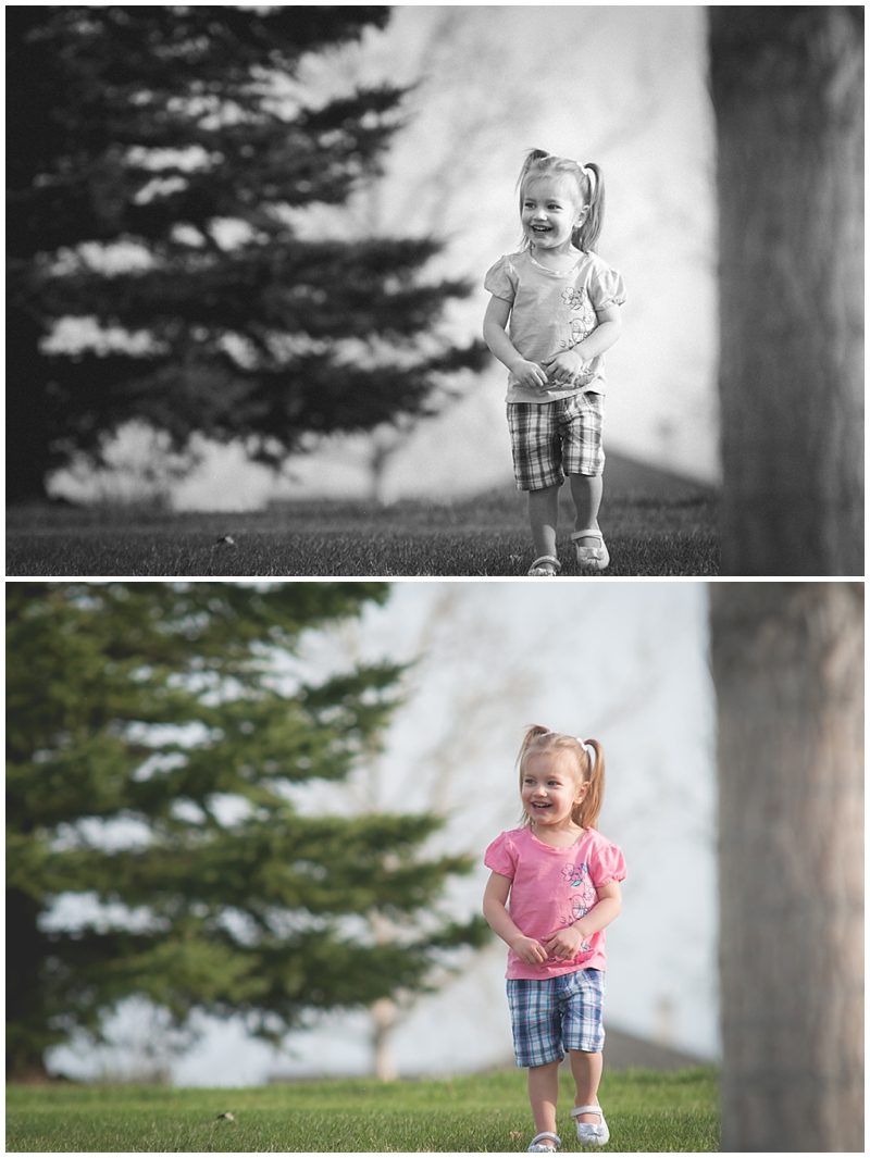 Sherwood Park Family Session, Black and White photography